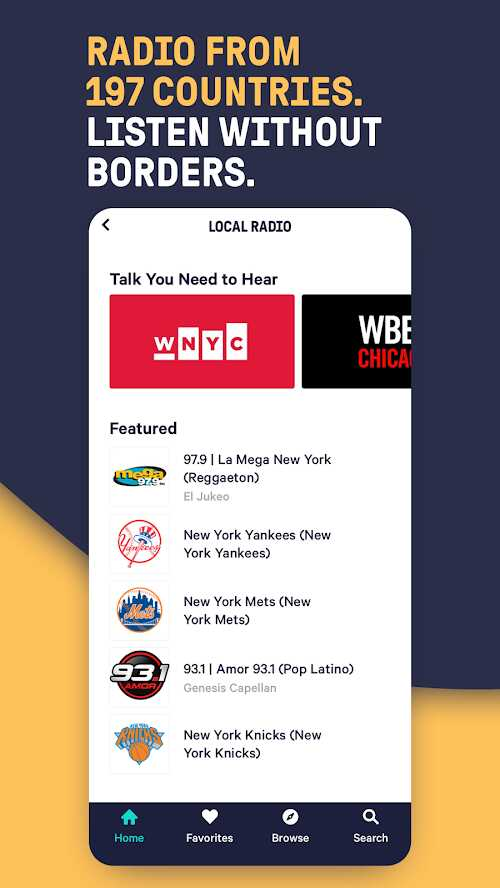 TuneIn Pro: Live Sports, News, Music & Podcasts